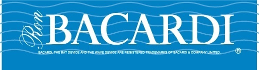 Bacardi blue logo