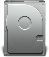 Back side hard disk hdd