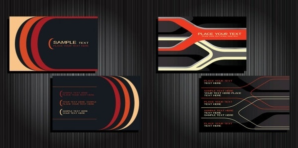 background 2 vector business cards