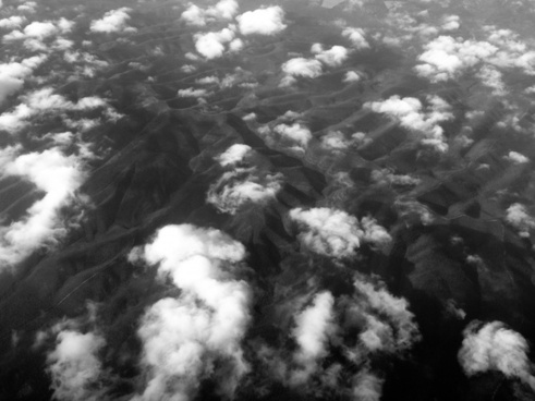 background backlit black and white dark eerie