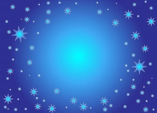 background blue christmas