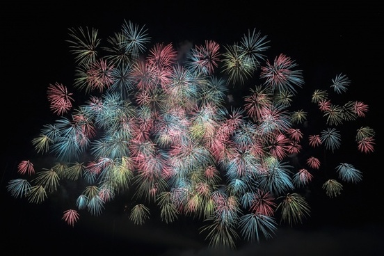 background boom bright celebration color dark