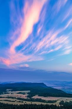 background bright cloud color dramatic landscape