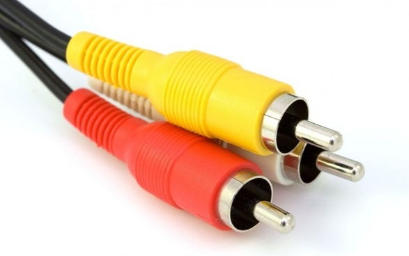 background cable isolated