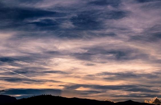 background cloud cloudy color contrast dusk evening