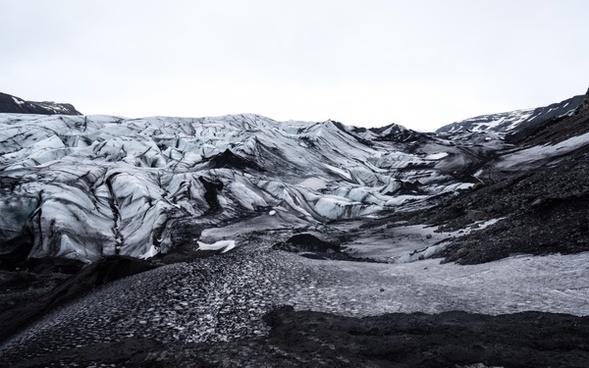 background cold ecology environment frozen glacier