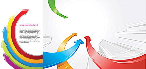 background color arrow vector graphics