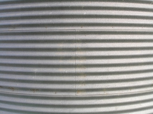 background corrugated tank