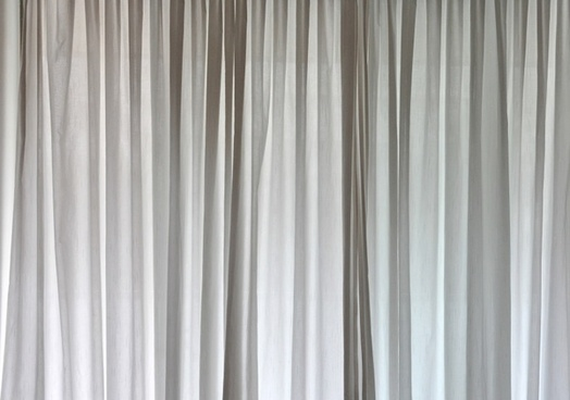 background curtain grey