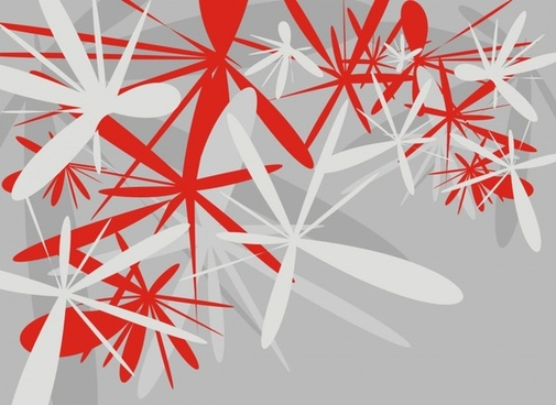 background grey red