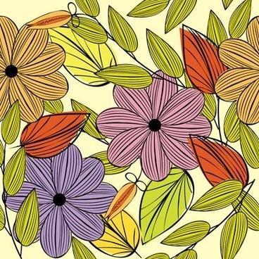 background pattern vector fashion 5