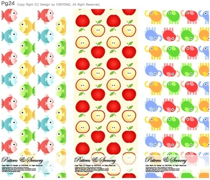 background series vector cute 10