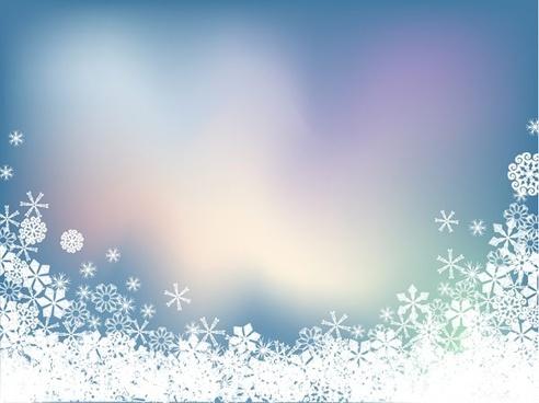 background vector snow symphony