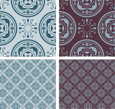 background with seamless pattern