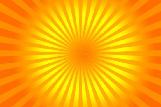 background yellow rays