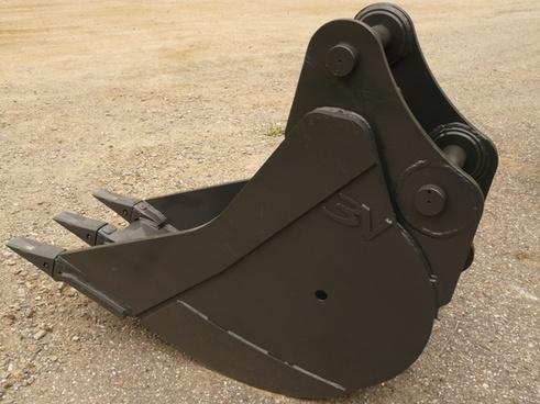backhoe bucket blade iron