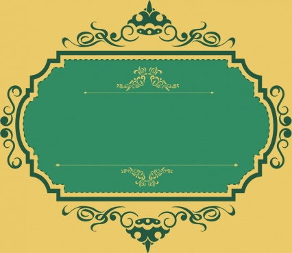 vintage frame template free vector download 22 914 free vector for