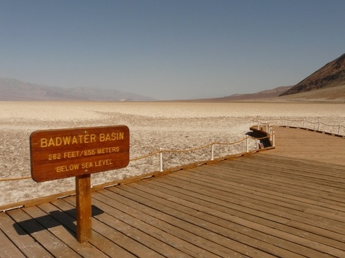 badwater badwater basin salt pan