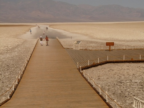 badwater salt pan salt lake