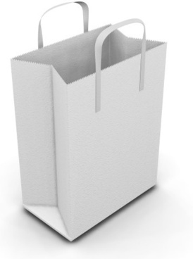 bag blank paper bag highdefinition picture