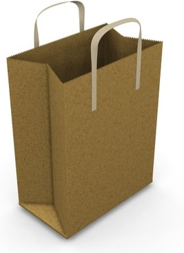 bag brown blank paper bag to highdefinition picture