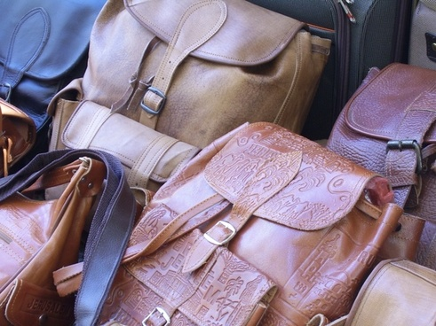 bag leather handbags