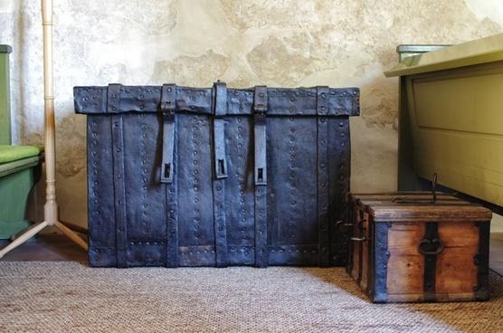 baggage luggage trunk