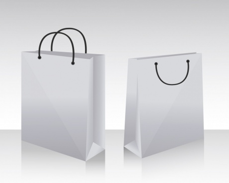 bags background mockup icons sketch 3d design