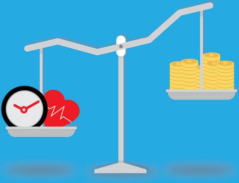 balance time heath and money