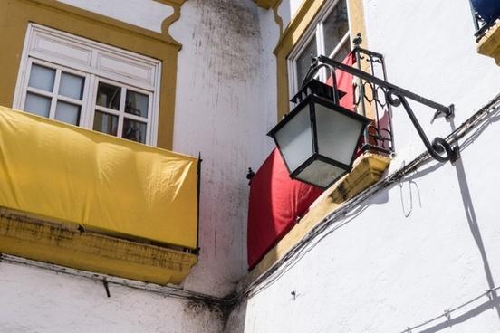 balcony window facade