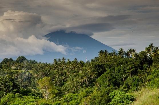 balinese vulcano
