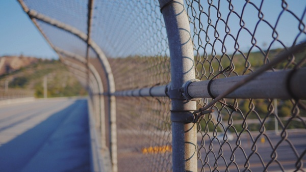 ball barbed wire chain competition equipment fence