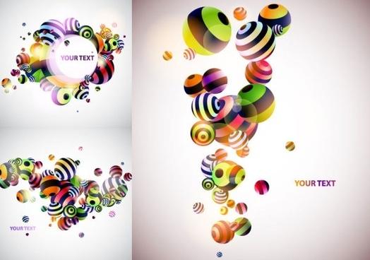 ball theme vector