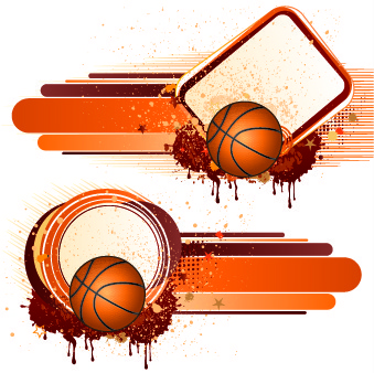 ball with garbage illustration vector