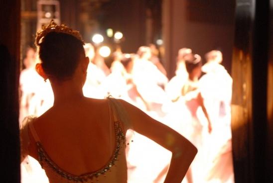 ballerina at backstage 2