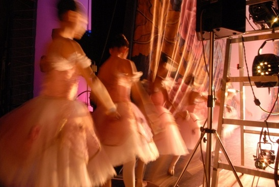 ballerina at backstage 3