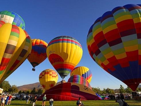 ballons hot air balloon air sports