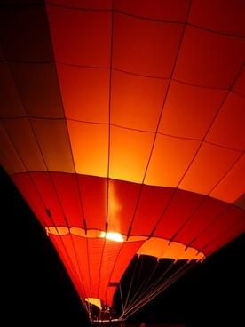 balloon hot air balloon balloon glow