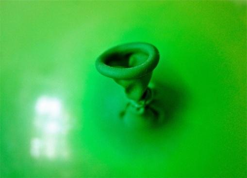 balloon rubber green