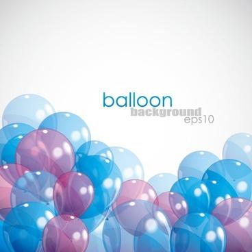 balloons 02 vector