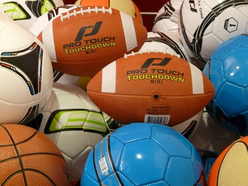 balls football pigskin