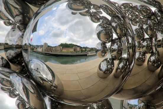 balls steel furniture demnkmal