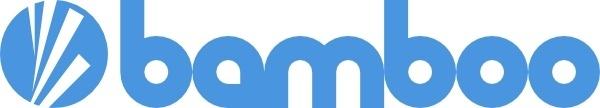 Bamboo Logo clip art