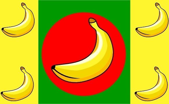 Banana Republic Flag clip art