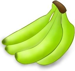 banane pas mure
