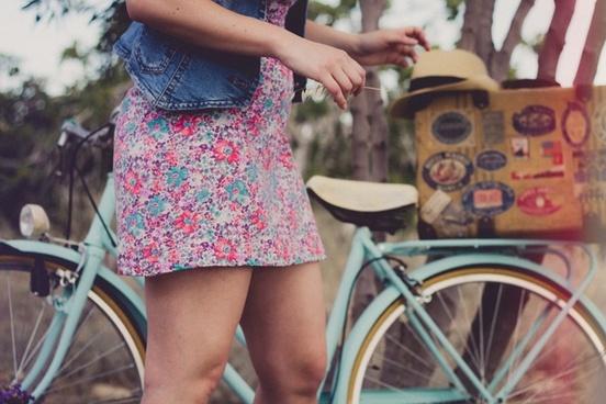 band bicycle bike child children fashion female