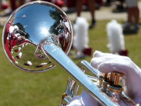 band trumpet uniforms