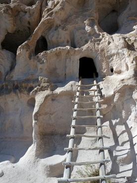 bandelier national monument rocks limestone