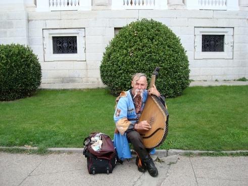 bandurist musician street musicians