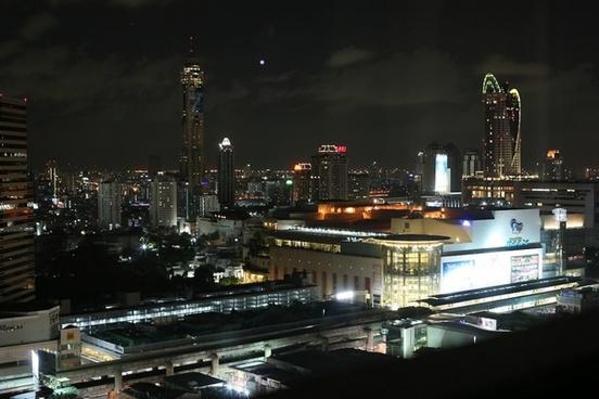 bangkok thailand sky